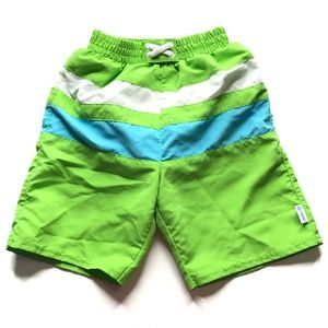 iPlay Green Swim Diaper Board Shorts A020785